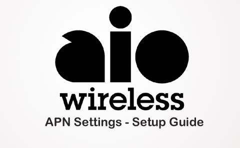 AIO Wireless APN Settings