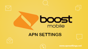 boost mobile apn settings