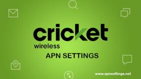cricket apn settings